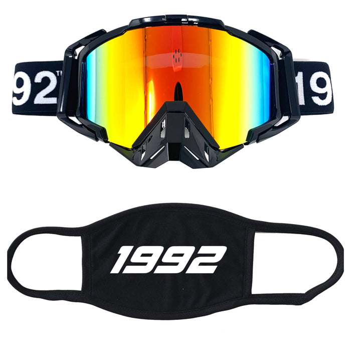 Black Goggle and mask combo