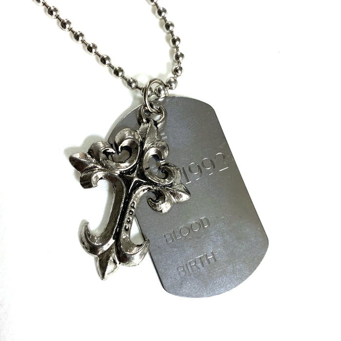 JUDGE DOG TAG NECKLACE