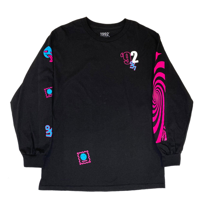 JUNGLE LONG SLEEVE BLACK