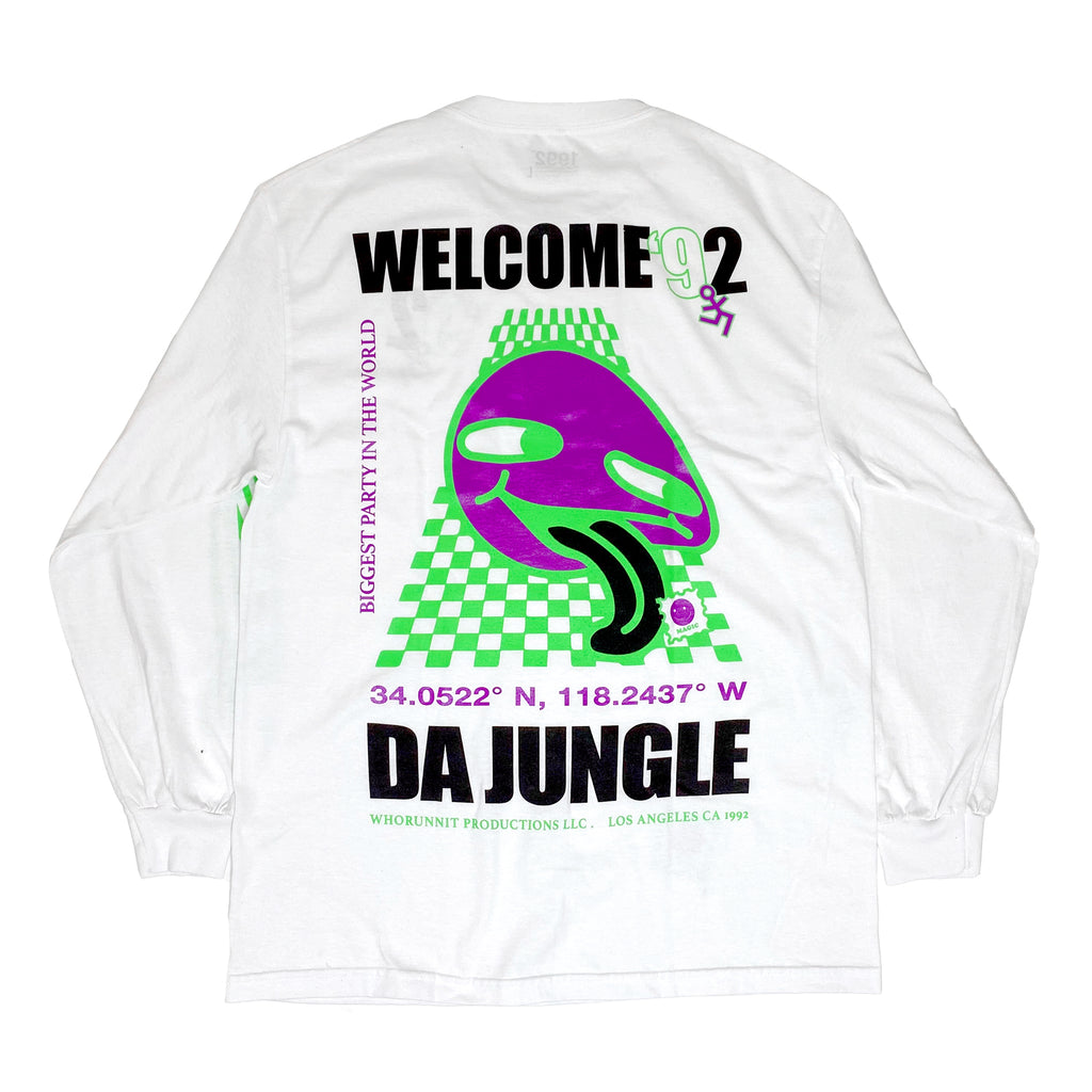 Copy of JUNGLE LONG SLEEVE BLACK