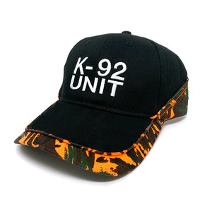 K-92 UNIT HAT BLACK