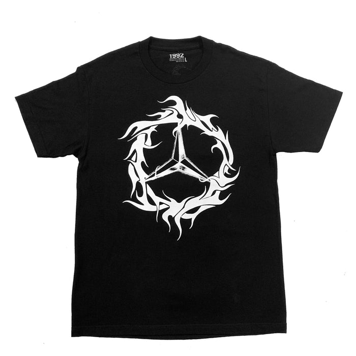 DEMZ TRIBAL TEE BLACK