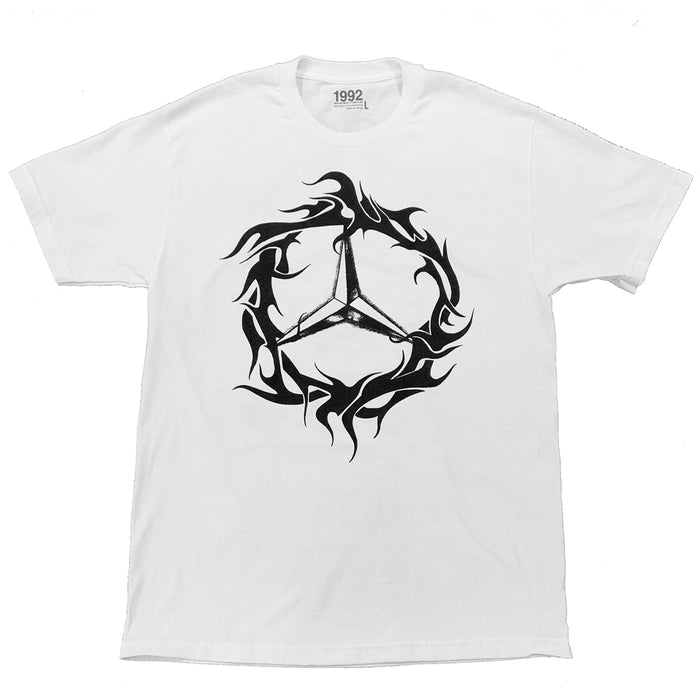 DEMZ TRIBAL TEE WHITE
