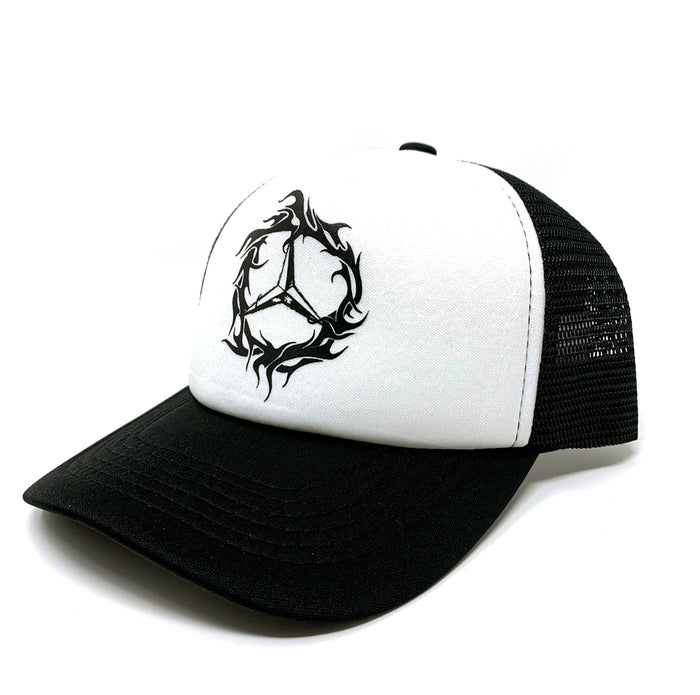 DEMZ TRIBE TRUCKER WHITE