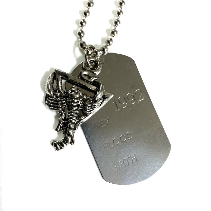 TRUST DOG TAG NECKLACE