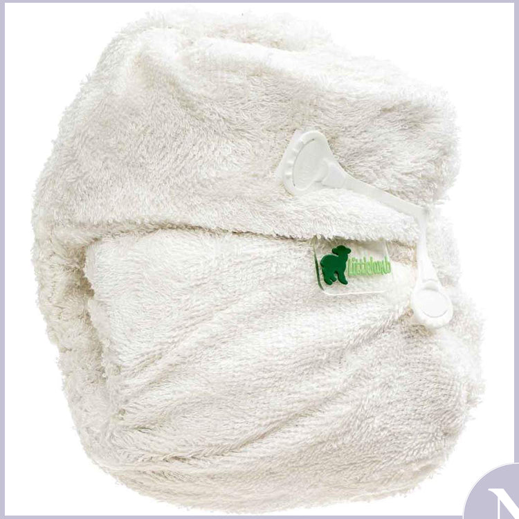 LittleLamb - Bamboo Fitted Nappy Nippa Nappy
