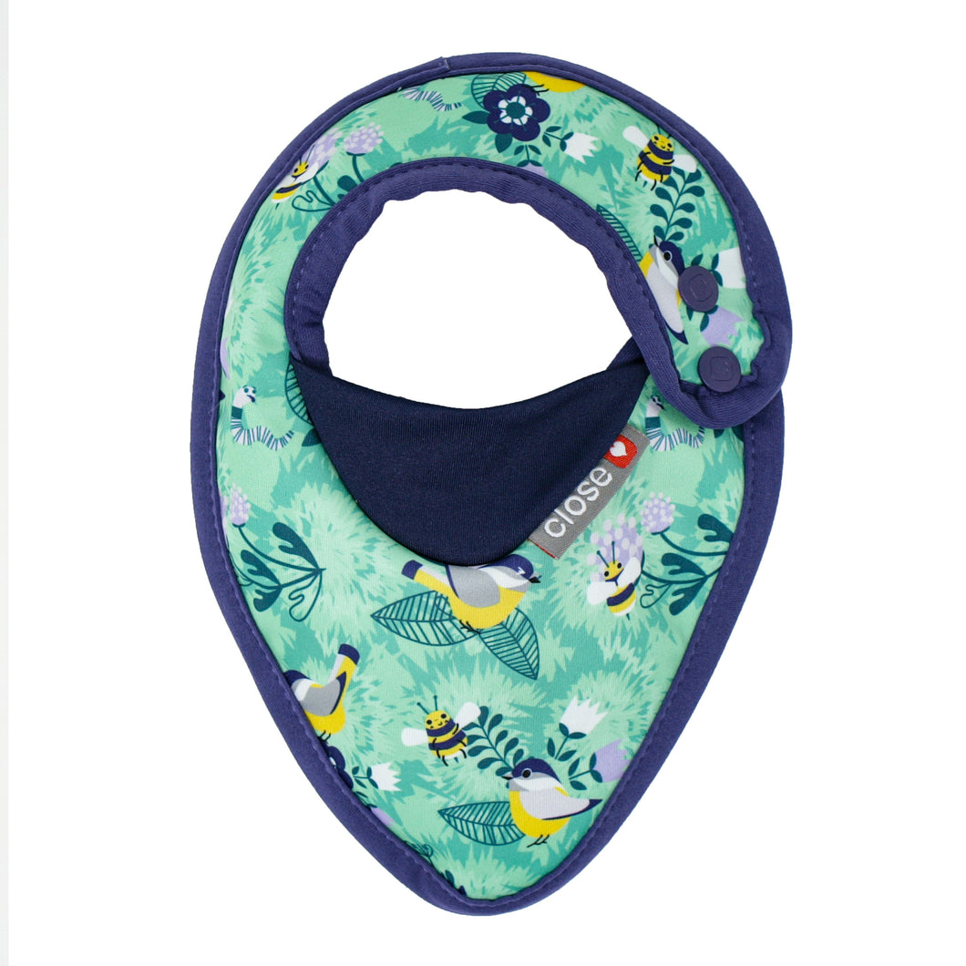 Close Parent Bib Stage 1 - Endangered Garden Collection