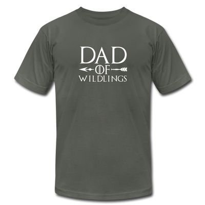 Dad Of Wildlings T-Shirt - asphalt