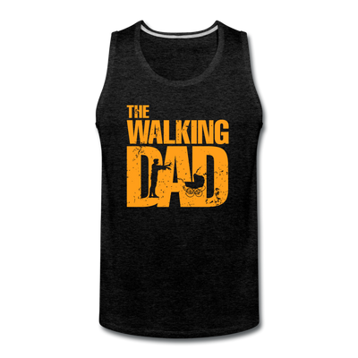 The Walking Dad Tank - charcoal gray