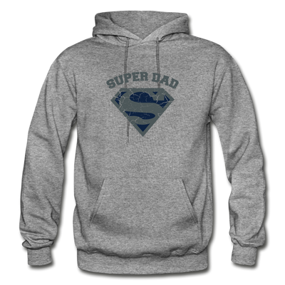 Super Dad Hoodie - graphite heather