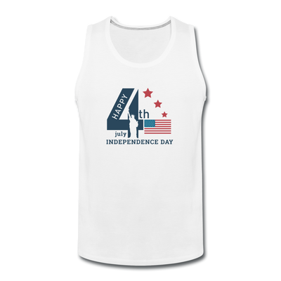 Independence Day Liberty Tank - white
