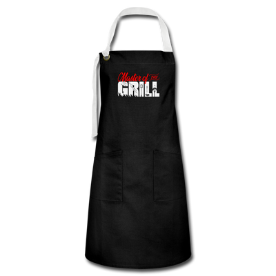 Master Of The Grill Apron - black/white