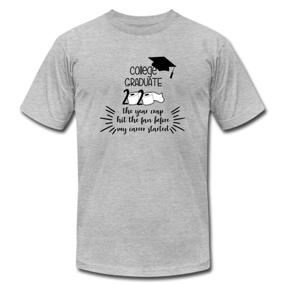 College Graduate 2020 T-Shirt - heather gray