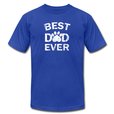 Best Dog Dad Ever T-Shirt - royal blue