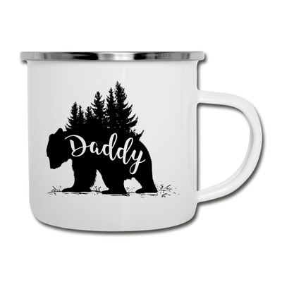 Daddy Bear Camper Mug - white