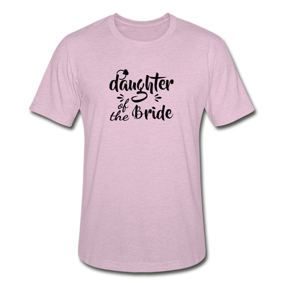 Daughter Of The Bride Heather Prism T-Shirt - heather prism lilac