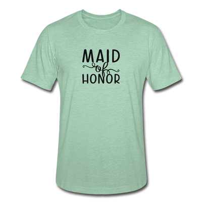 Maid Of Honor Heather Prism T-Shirt - heather prism mint
