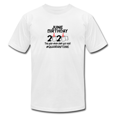 June Birthday 2020 T-Shirt - white