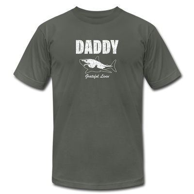 Daddy Shark T-Shirt - asphalt