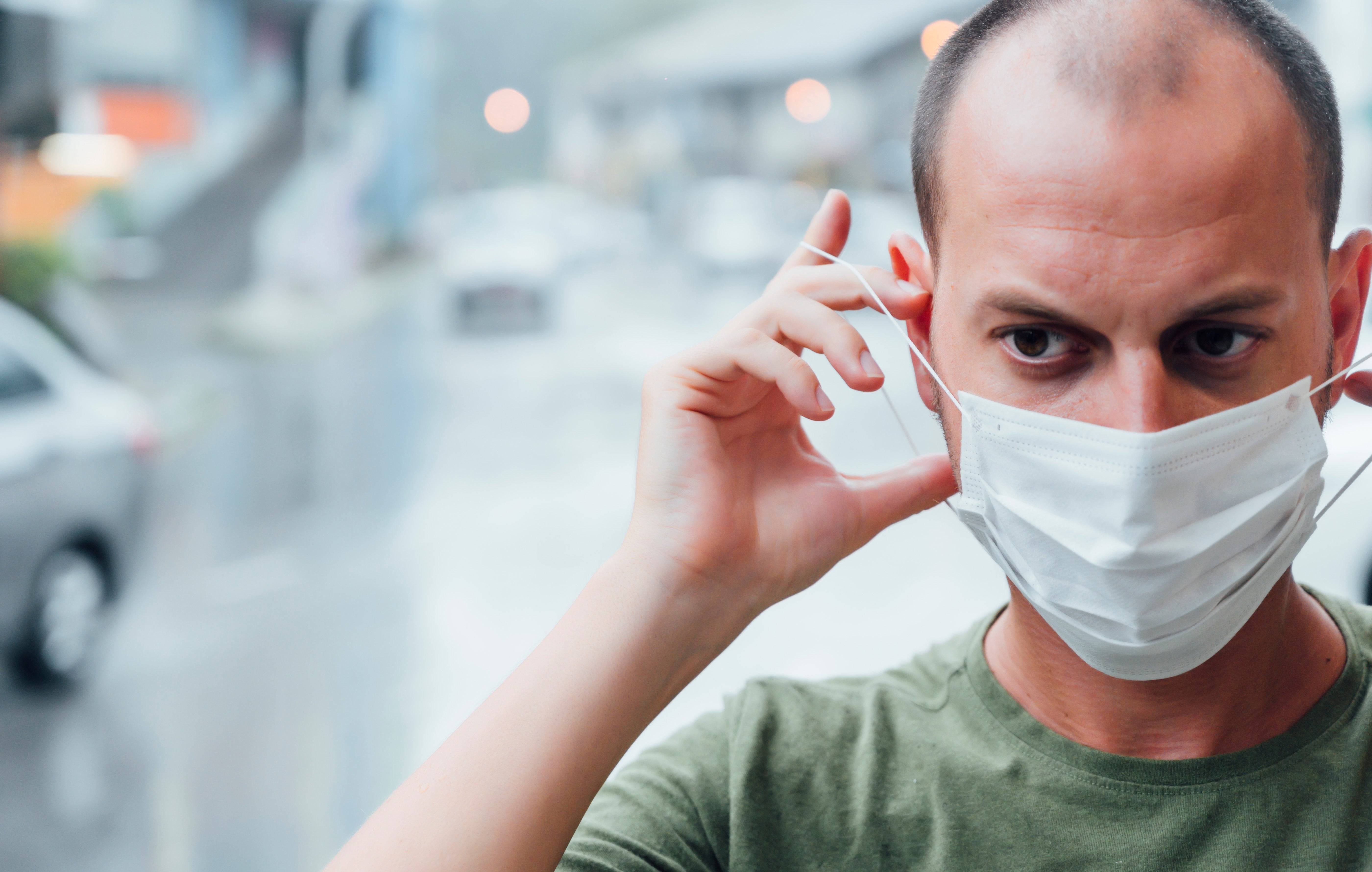 Who should wear face masks during the pandemic?