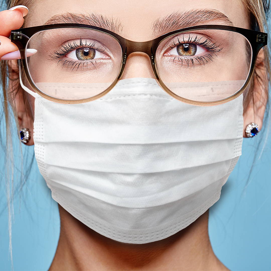Is your Face Mask Fogging Up your Glasses? Make it Stop!