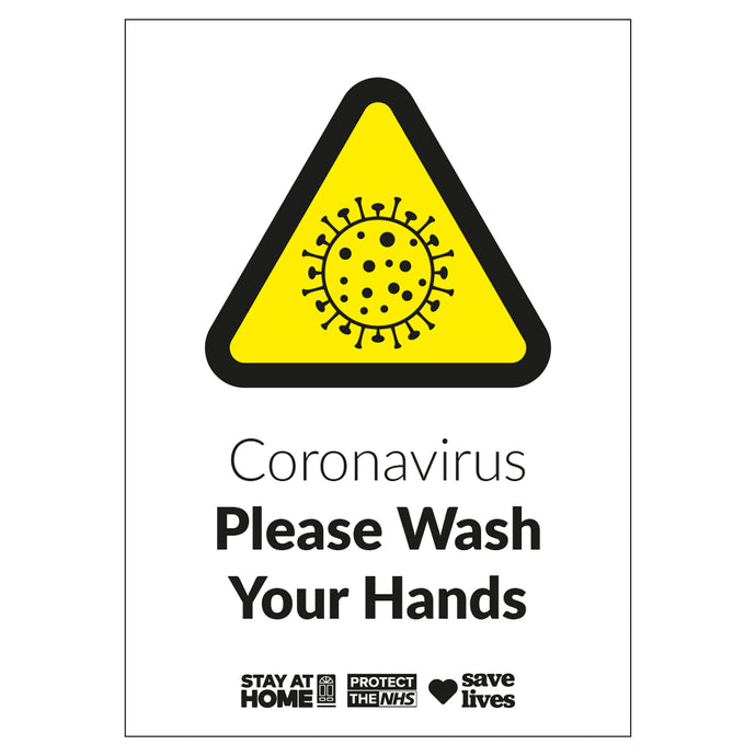 Wash Your Hands - Board Sign
