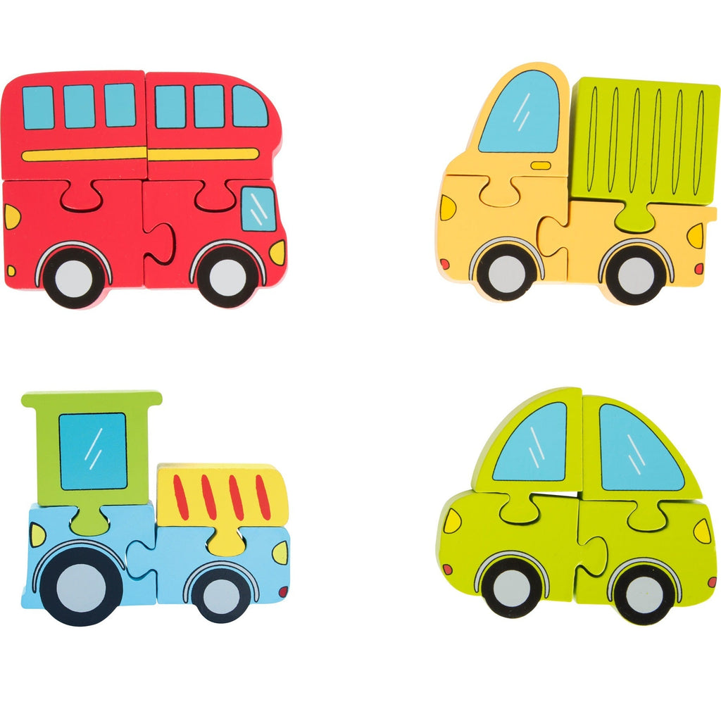 Small Foot Vehicles Puzzle Set - ToysARoo