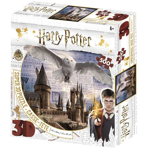 Harry Potter 3D Puzzle Hogwarts & Hedwig - ToysARoo