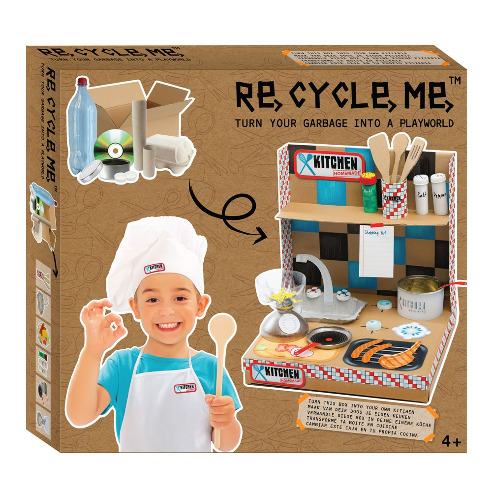Recycle-Me Playworld Kitchen - ToysARoo