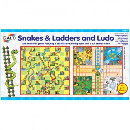 Galt Snakes & Ladders and Ludo - ToysARoo