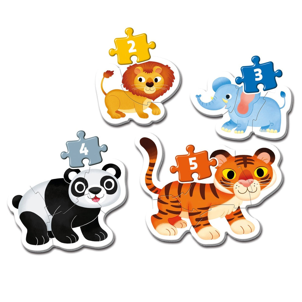 Clementoni My First Wild Animals Puzzle - ToysARoo