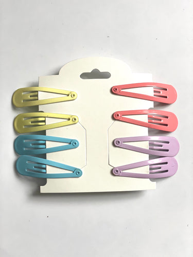Multi Colored Barrettes