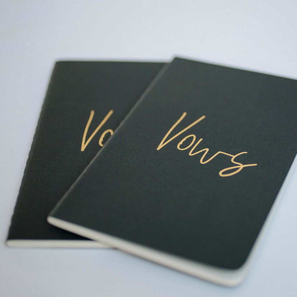foil-embossed-wedding-vow-books-nz