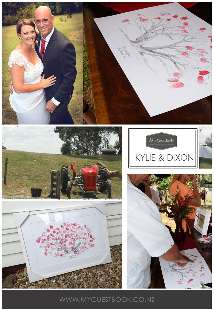My Guestbook - Kylie and Dixons New Zealand Wedding On The Family Farm