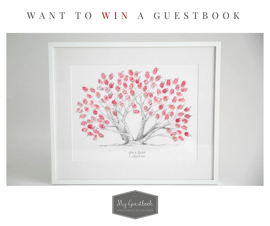 Win A Wedding Guestbook