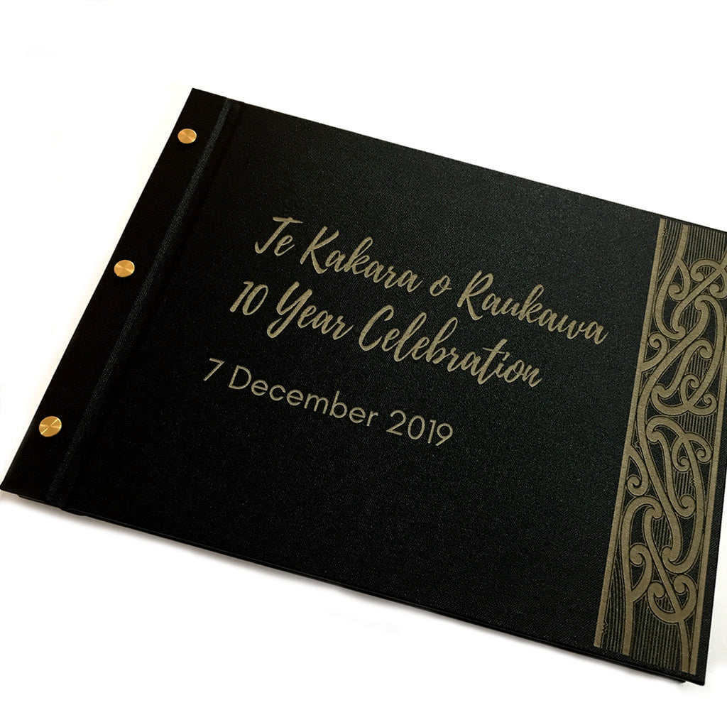Artisan Book - Personalised Event Guestbook