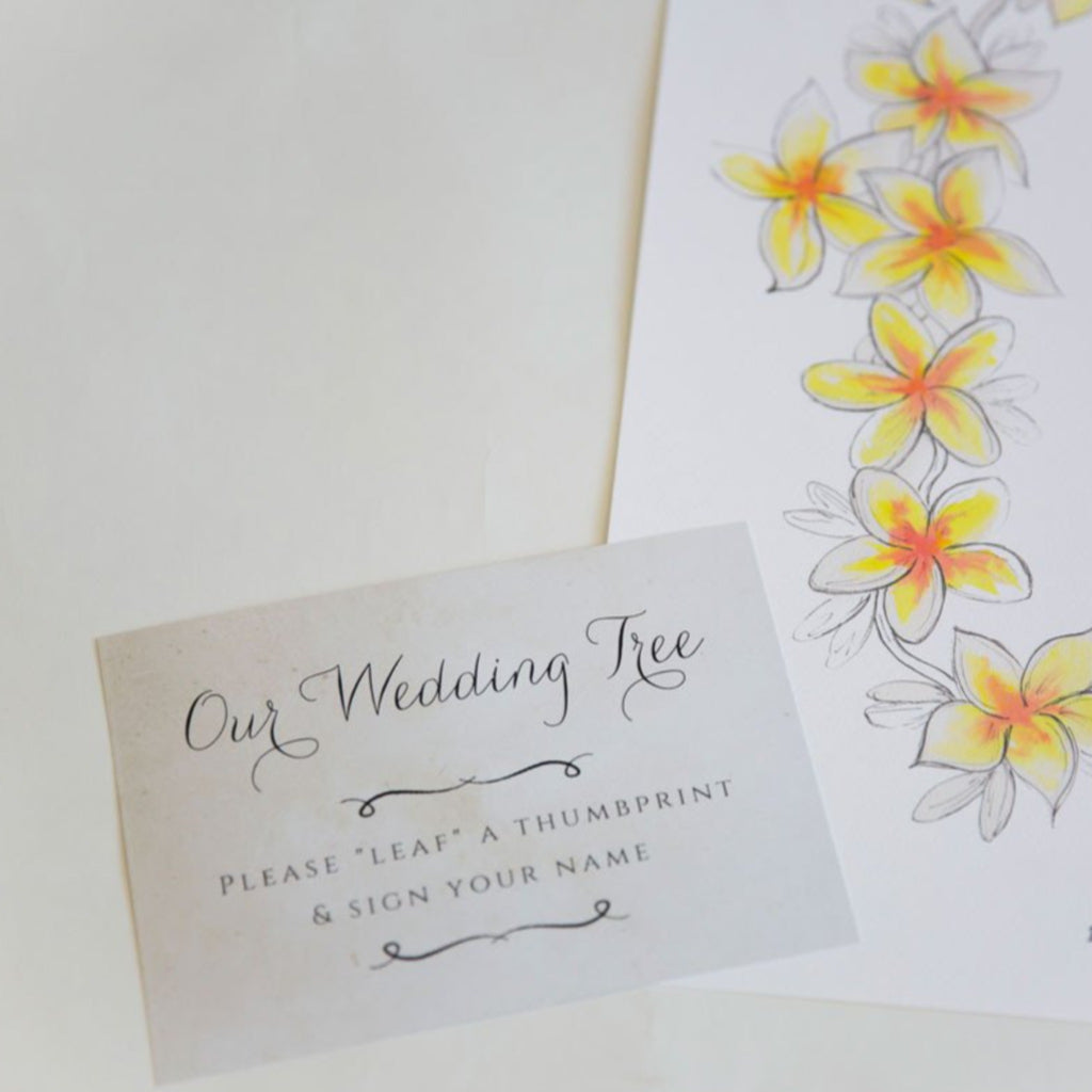 Frangipani Lei Guestbook - My Guest Book - 3