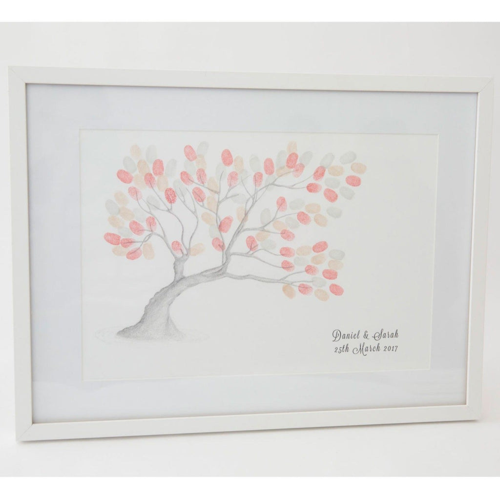 Wedding - Wanaka Tree Fingerprint Tree Wedding Guestbook