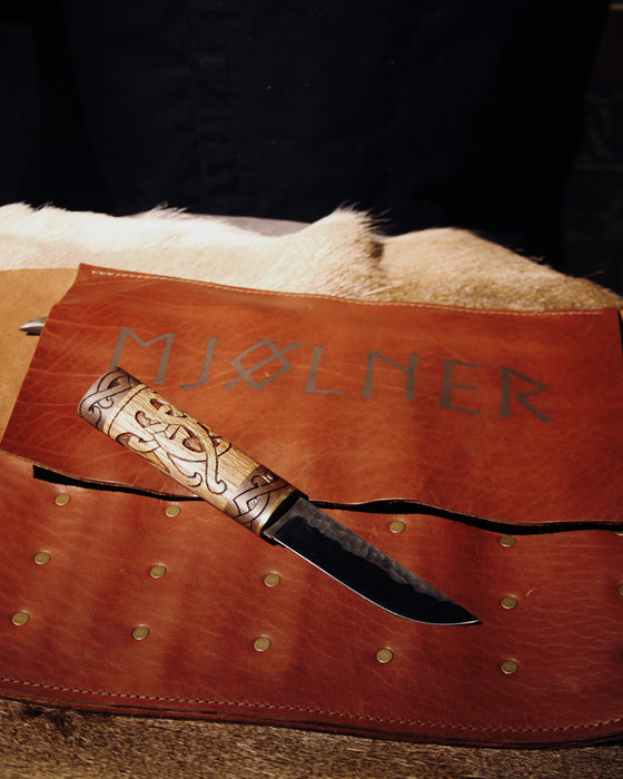 Mjølner Leather Knife Roll
