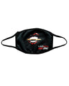 Kiss Kiss Bang Bang - 2 ply re-usable cloth face mask