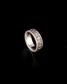 Runes Ring Stainless Steel