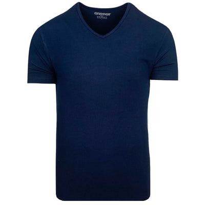 Body Fit V-Neck Navy - Versteegh Jeans
