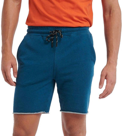 sweat short melange shiwi 5102210452-677 blue pond front