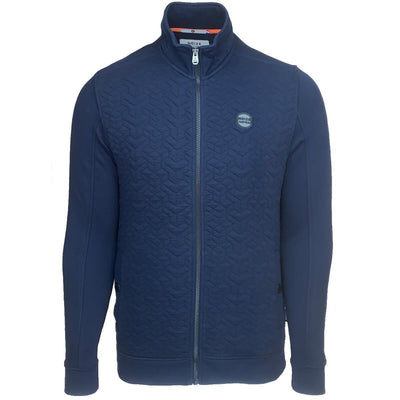 5112100 00 037 | sweat full zip padded fleece| navy | noize | front