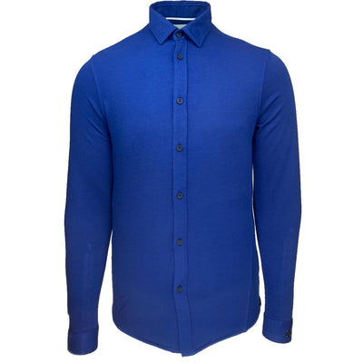 csi205608 5089 | long sleeve shirt jersey pique jacquard | cast iron | front
