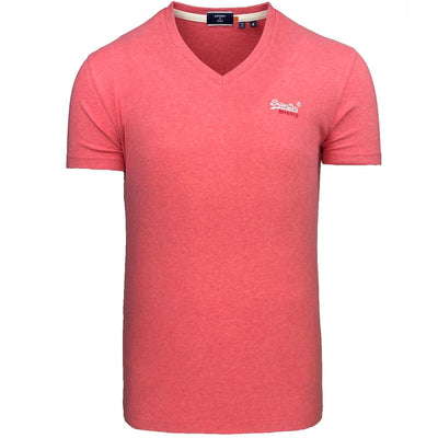 superdry ol classic vee tee t-shirt m1010861a ozj