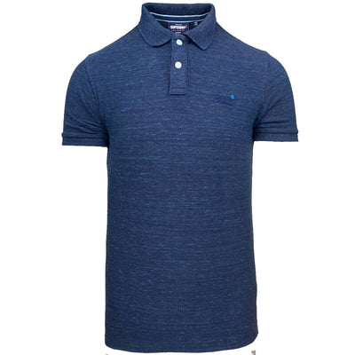 classic pique short sleeve polo shirt | superdry | m1110004a uj1 front