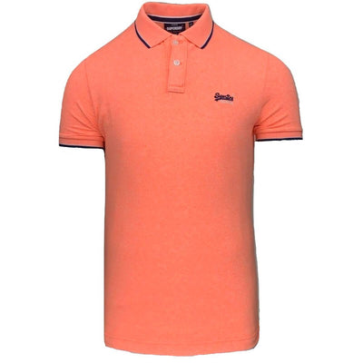 poolside pique polo | superdry | m1110013a s4r front