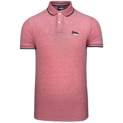 Poolside Pique Polo | Superdry | M1110013A-01R | front