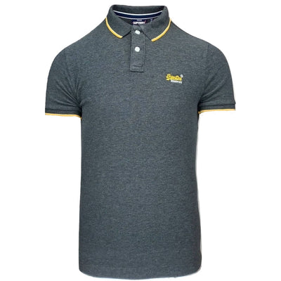 poolside pique polo | superdry | m1110013a nln | front